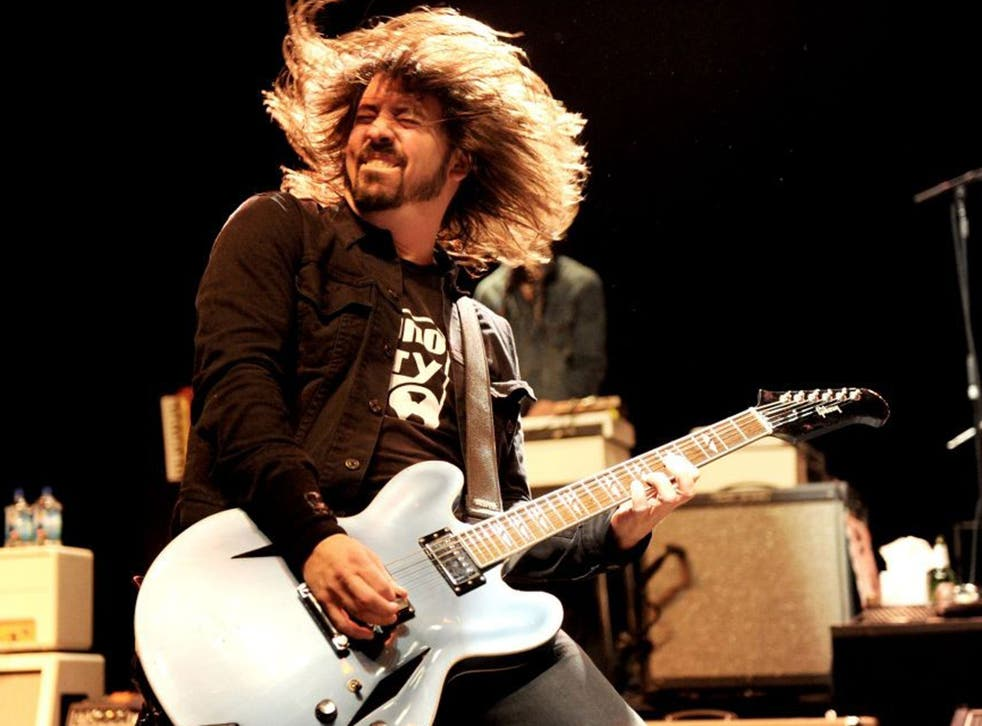 Foo Fighters use a 'tension and release' structure in many of their rock songs