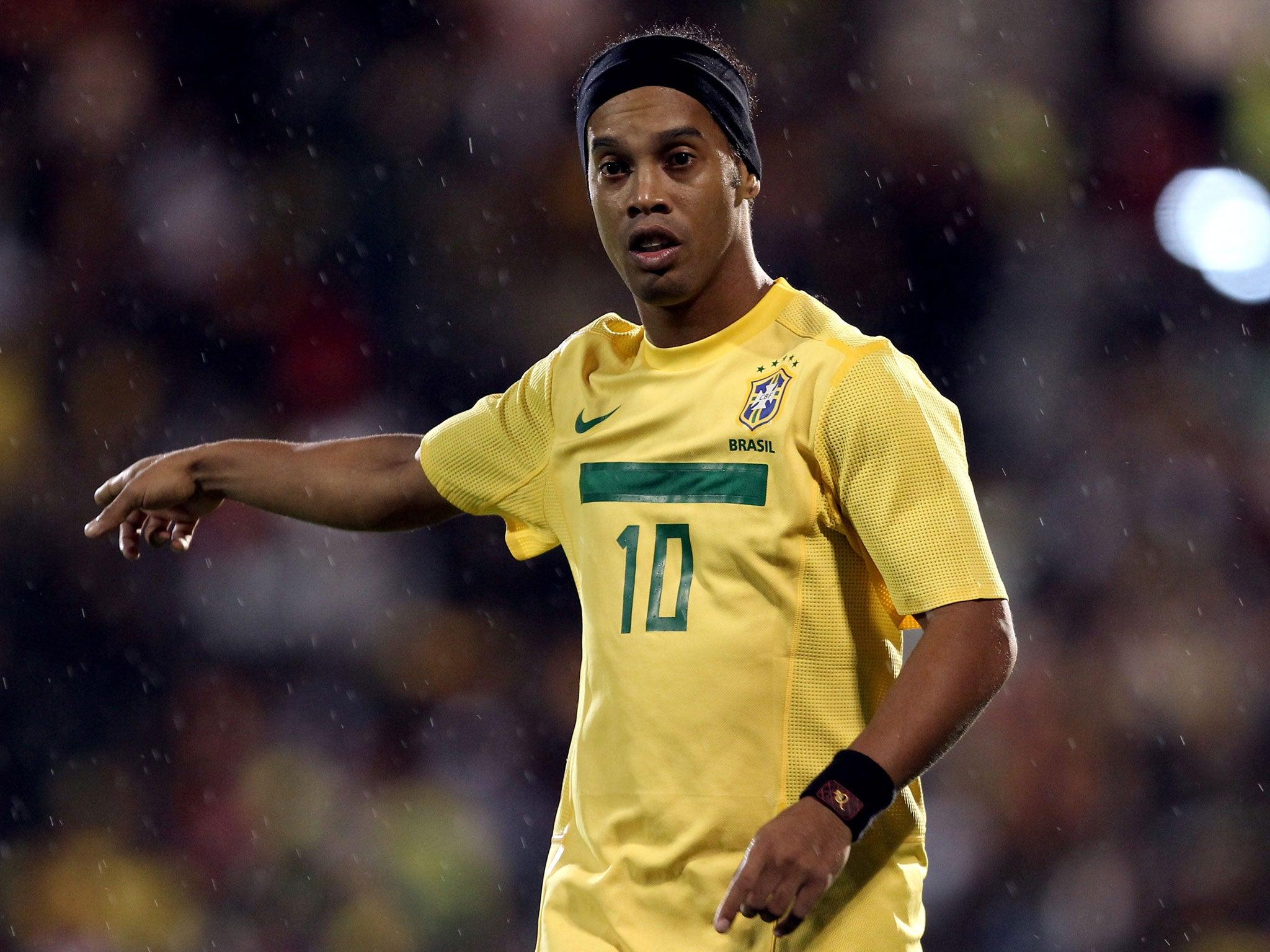 Ronaldinho Non league Basingstoke Town make stunning bid for
