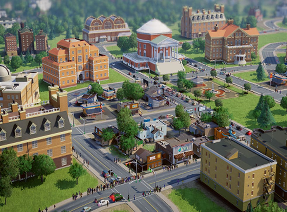 A screenshot from the new SimCity game, which has had a bumpy launch