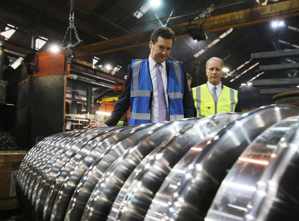 The Government hopes that the HS2 project will help to boost manufacturing. In January, the Chancellor George Osborne toured the train wheel manufacturers Lucchini UK in Manchester as details were released details of the next phase of the £32bn high-speed