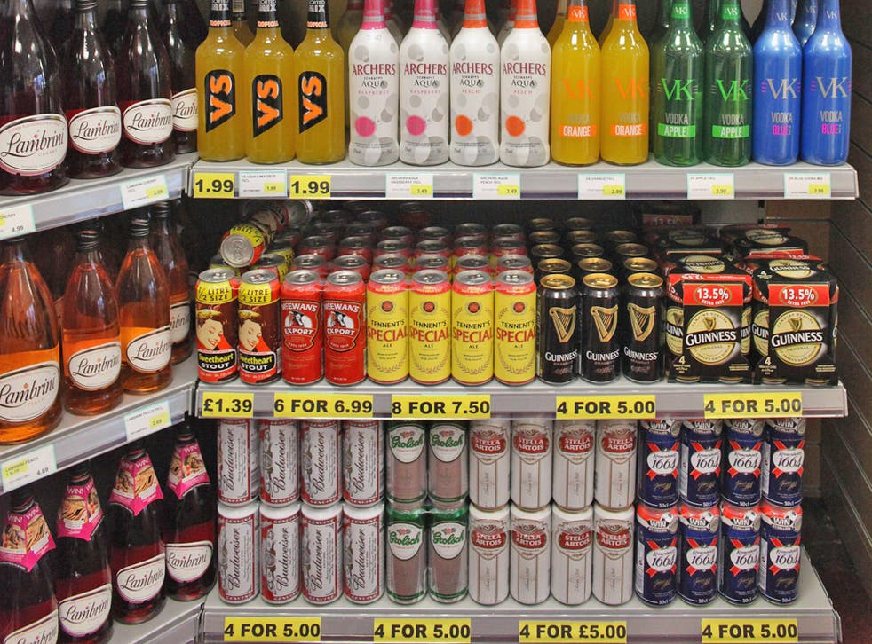 Health campaigners have been pressing for tougher action on alcohol abuse