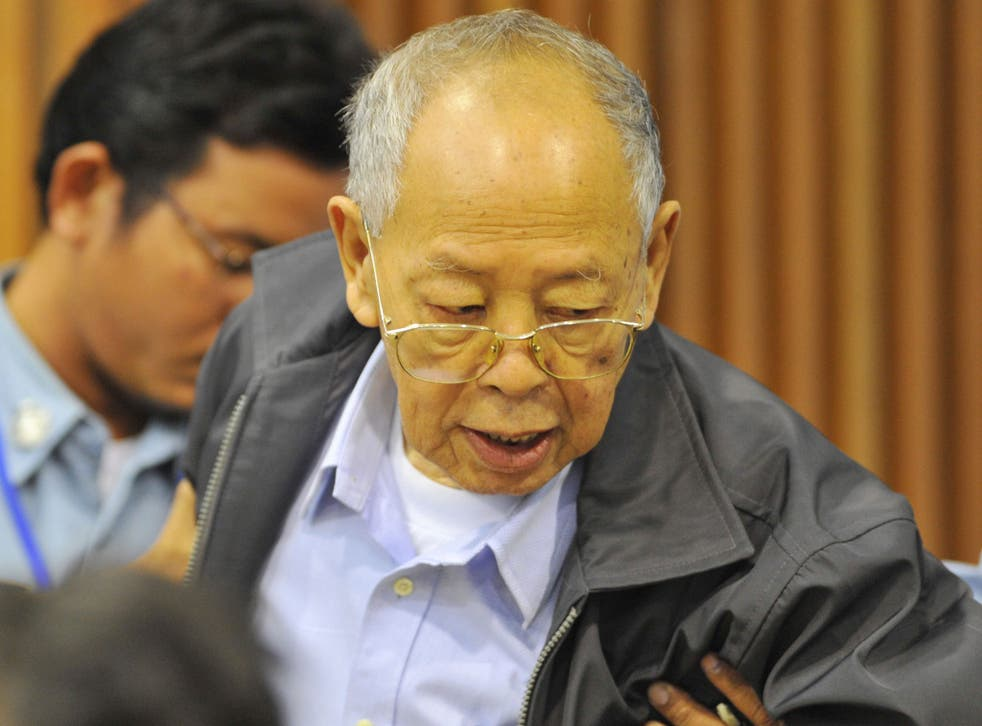 Ieng Sary, who served as foreign minister of the Khmer Rouge regime, has died