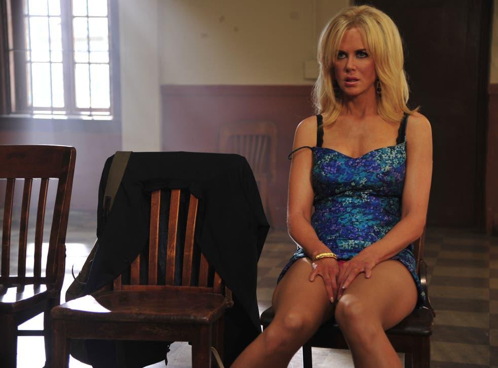 Devil in a blue dress: Nicole Kidman in 'The Paperboy'