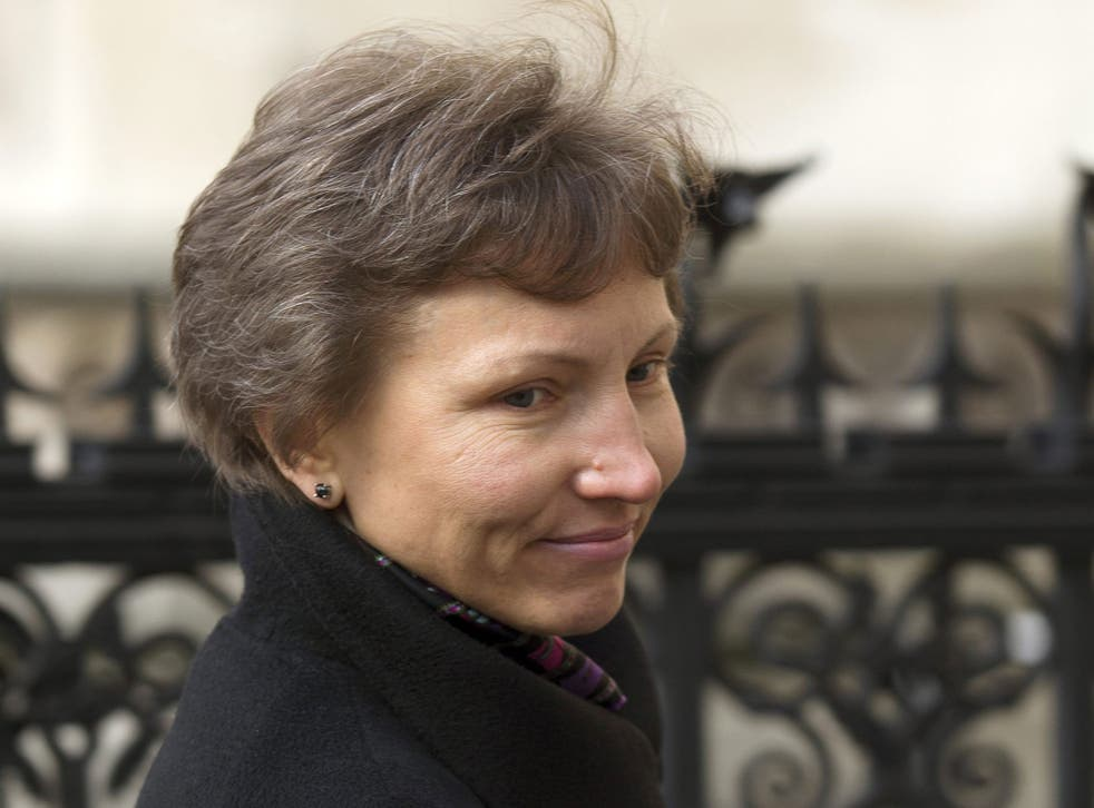 Marina Litvinenko: she was unsurprised by the delay - the last in a series of many - and says she still believes in the British justice system