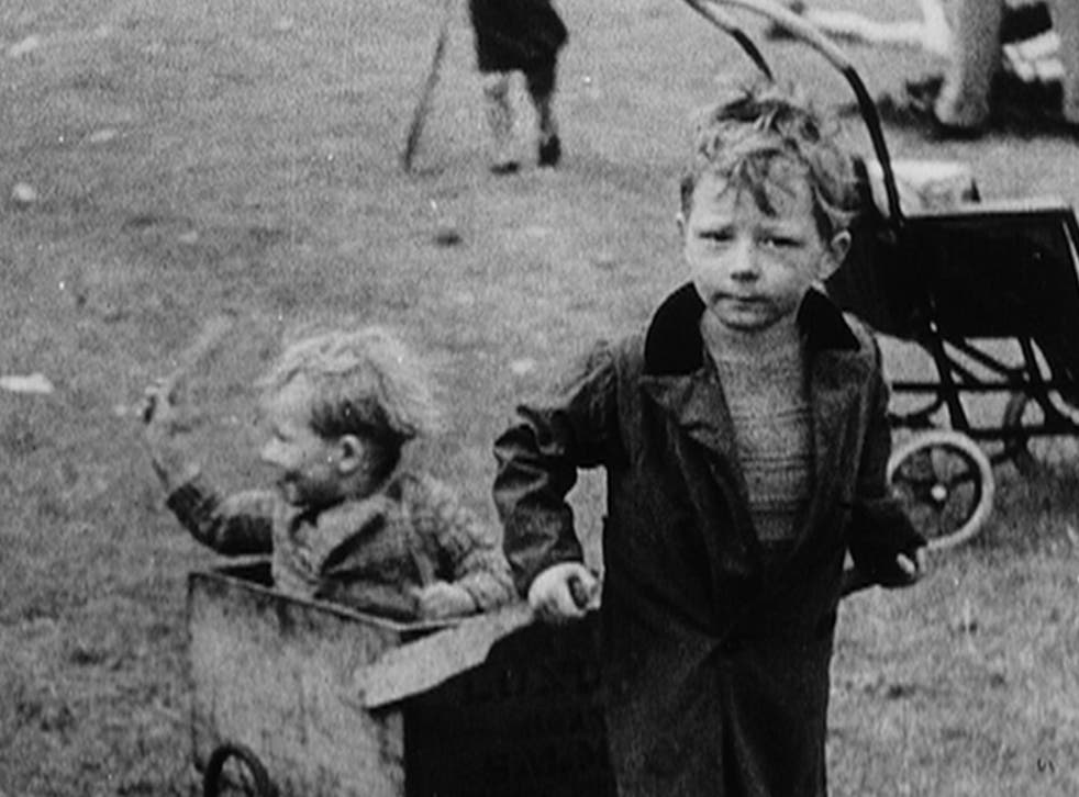 Poignant: Archive footage of the 1930s in Ken Loach's The Spirit of '45