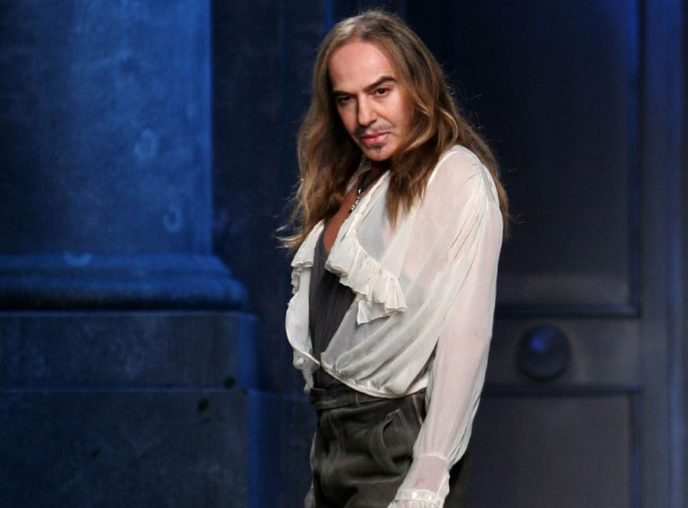 The fashion world is in a Galliano frenzy