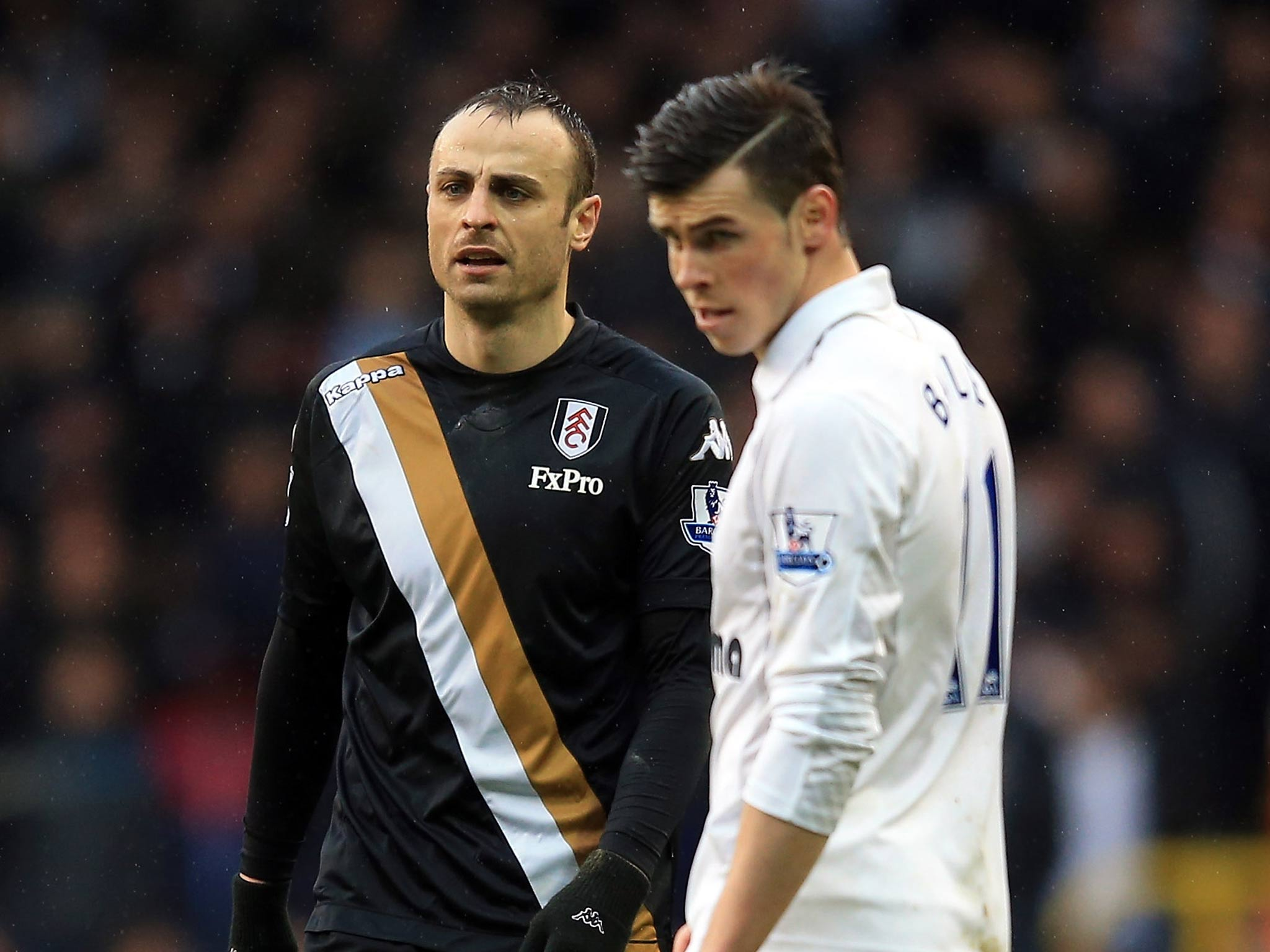 Tottenham 0 Fulham 1 match report Dimitar Berbatov and Martin Jol