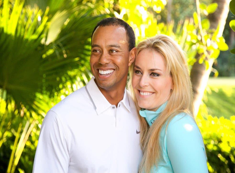 Tiger Woods with new girlfriend Lindsey Vonn