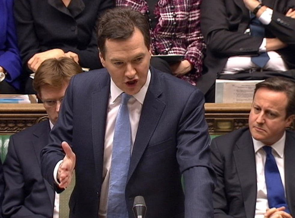 Chancellor George Osborne details this year's Budget