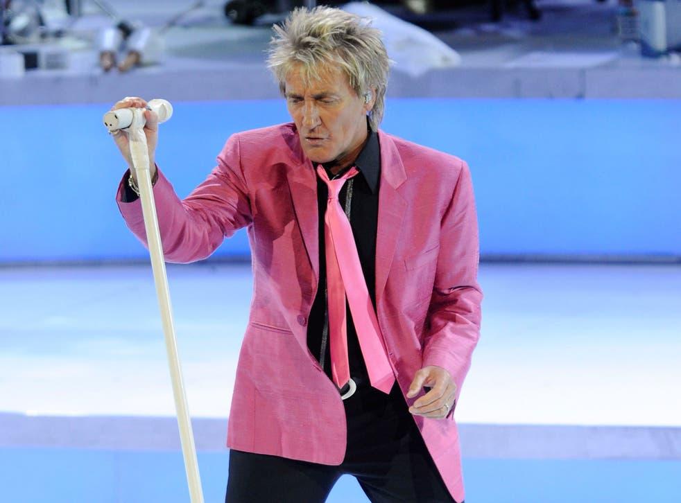 Rod Stewart, rock's great lothario