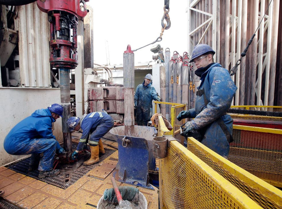 The Cuadrilla Resources shale fracking facility near Blackpool