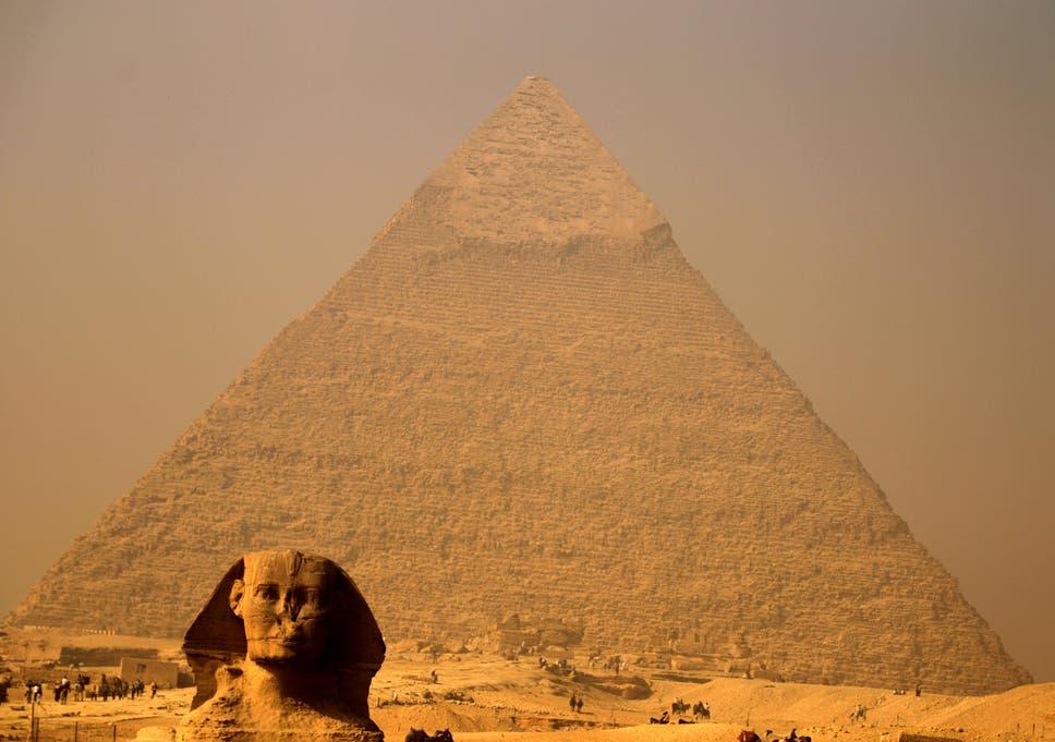 Russian porn filmed at pyramids