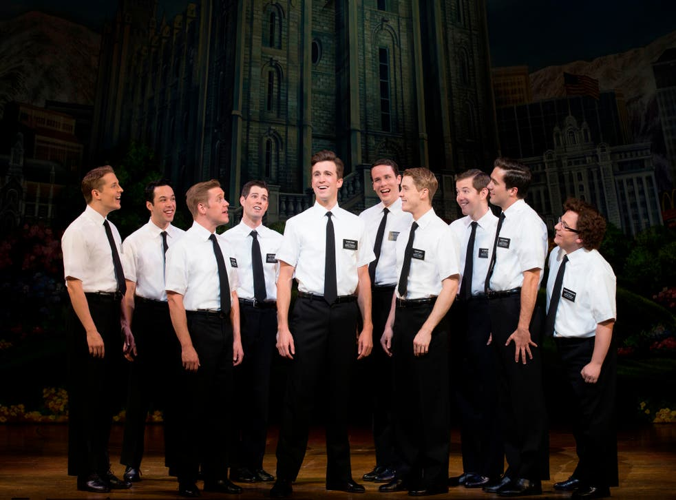 Stars of The Book of Mormon by Trey Parker and Matt Stone of South Park