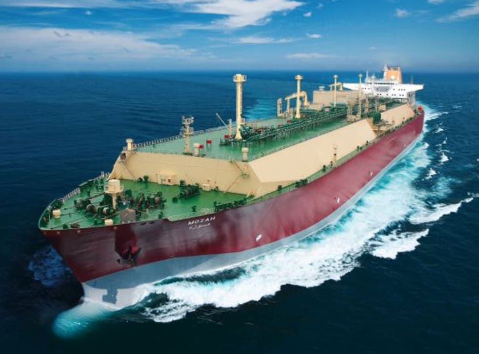 The 350m Varga is expected to dock at Milford Haven in Wales to supply Britain with 266,000 cubic metres of liquefied natural gas