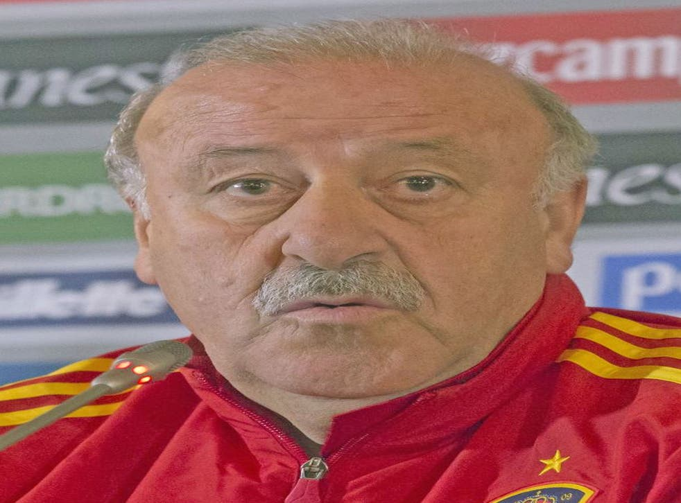 Vicente del Bosque expects his Spain side to beat France tonight