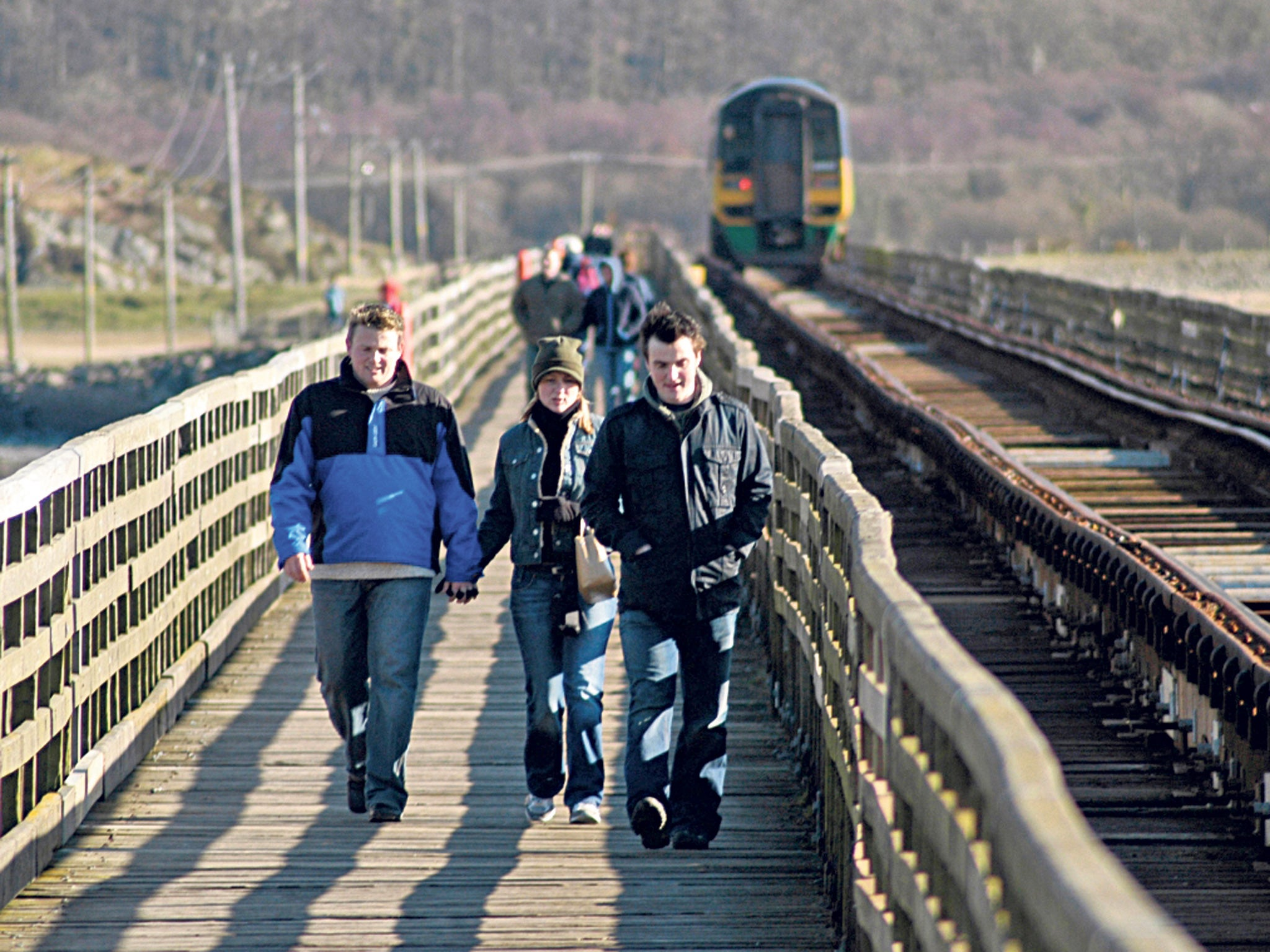 Back On Track Old Railway Lines You Can Hike And Cycle The