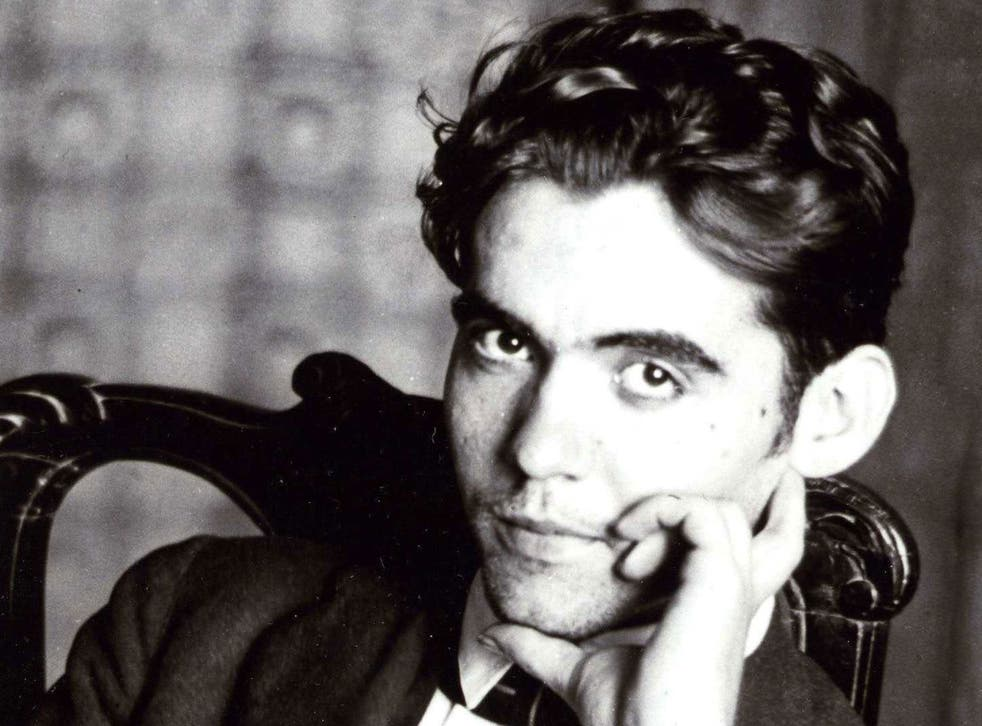Spanish poet and playwright Federico García Lorca