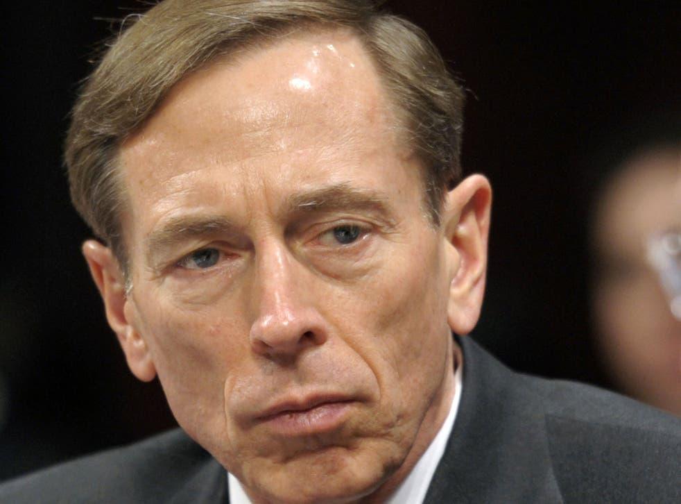 David Petraeus was forced to resign as CIA Director