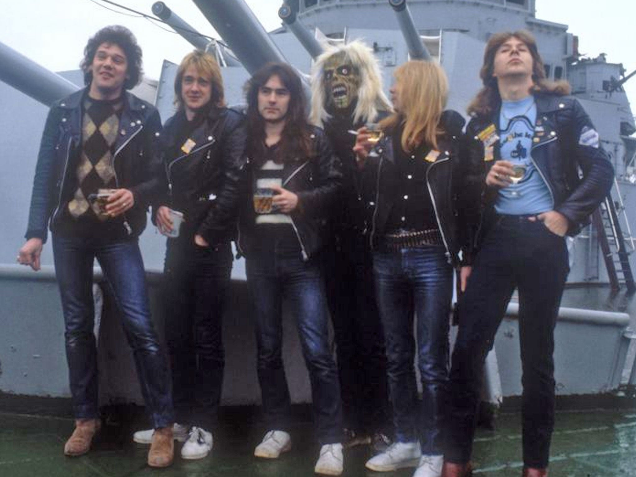 Clive Burr Drummer With Iron Maiden The Independent