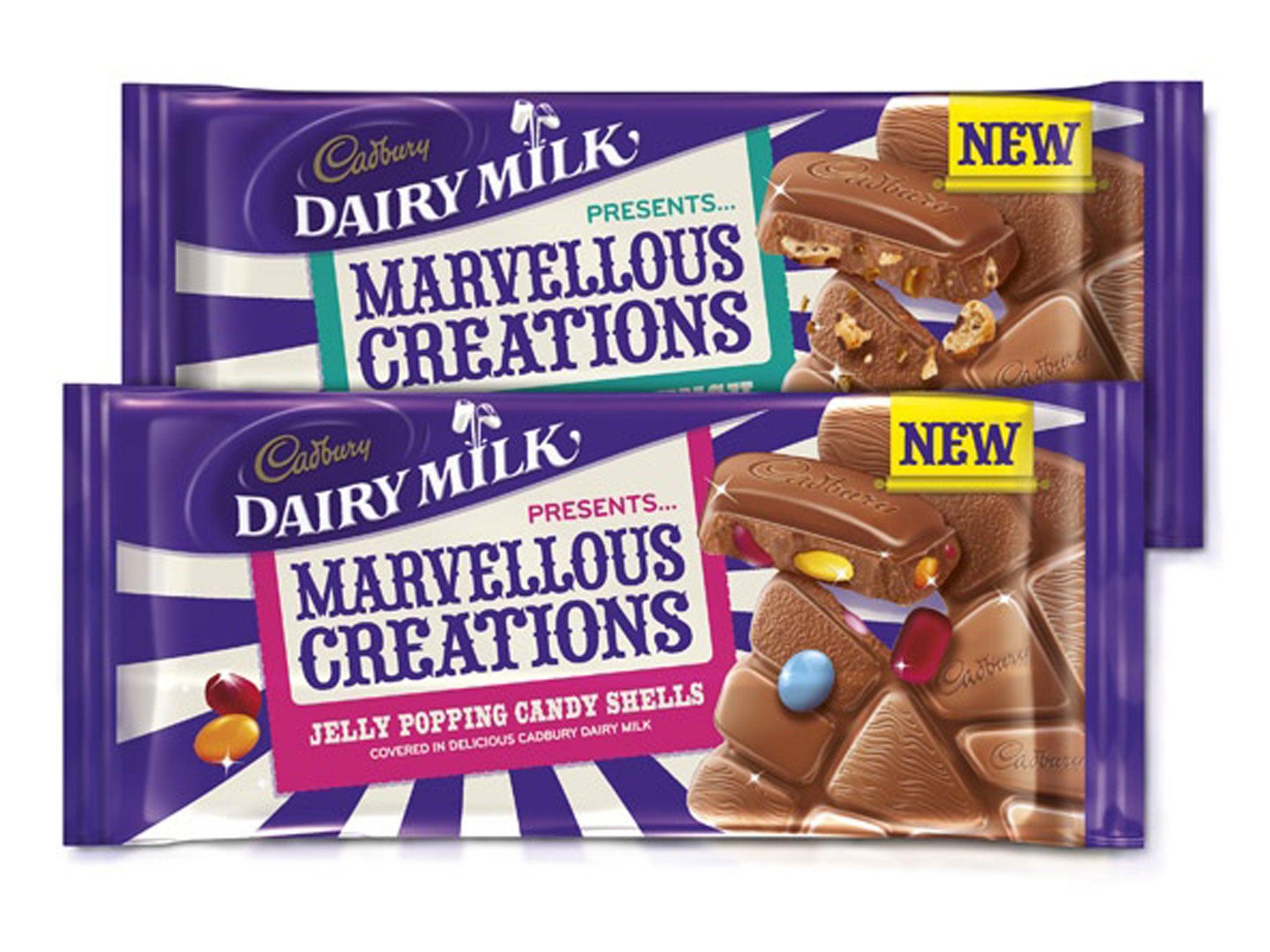 Cadburys Chocolate Bar Range