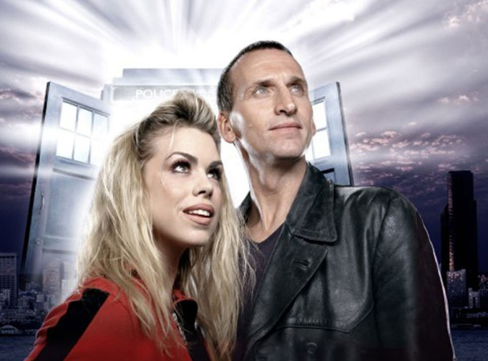 Same difference: Billie Piper and Christopher Ecclestone were part of a revamped 'Doctor Who' in 2005, not a reboot