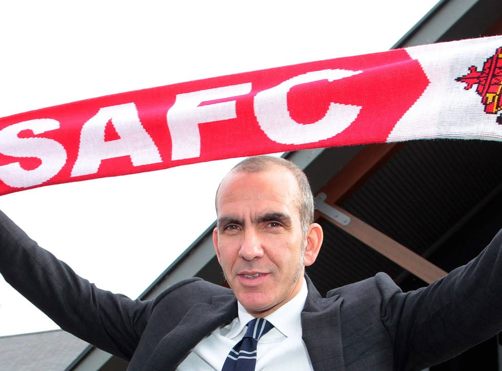 Sunderland manager Paolo Di Canio