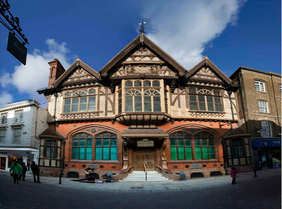 The Beaney museum, Canterbury