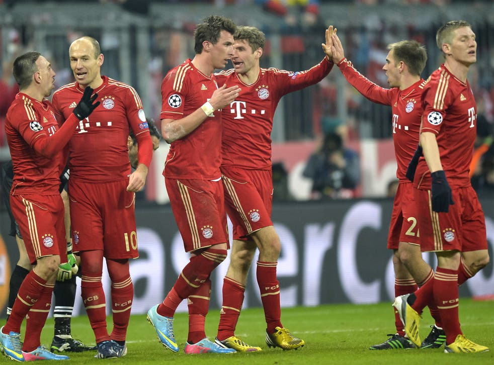 Bayern's football is both creative and relentless