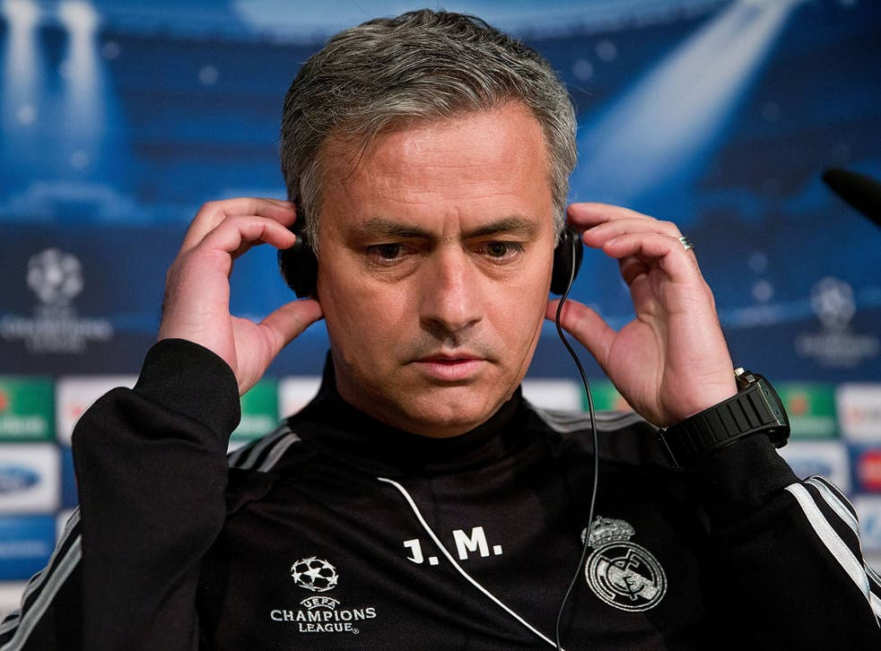Real Madrid boss Jose Mourinho speaks to the media ahead of a Champions League tie with Galatasaray