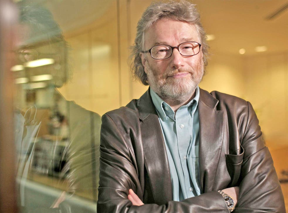 Best-selling author Iain Banks