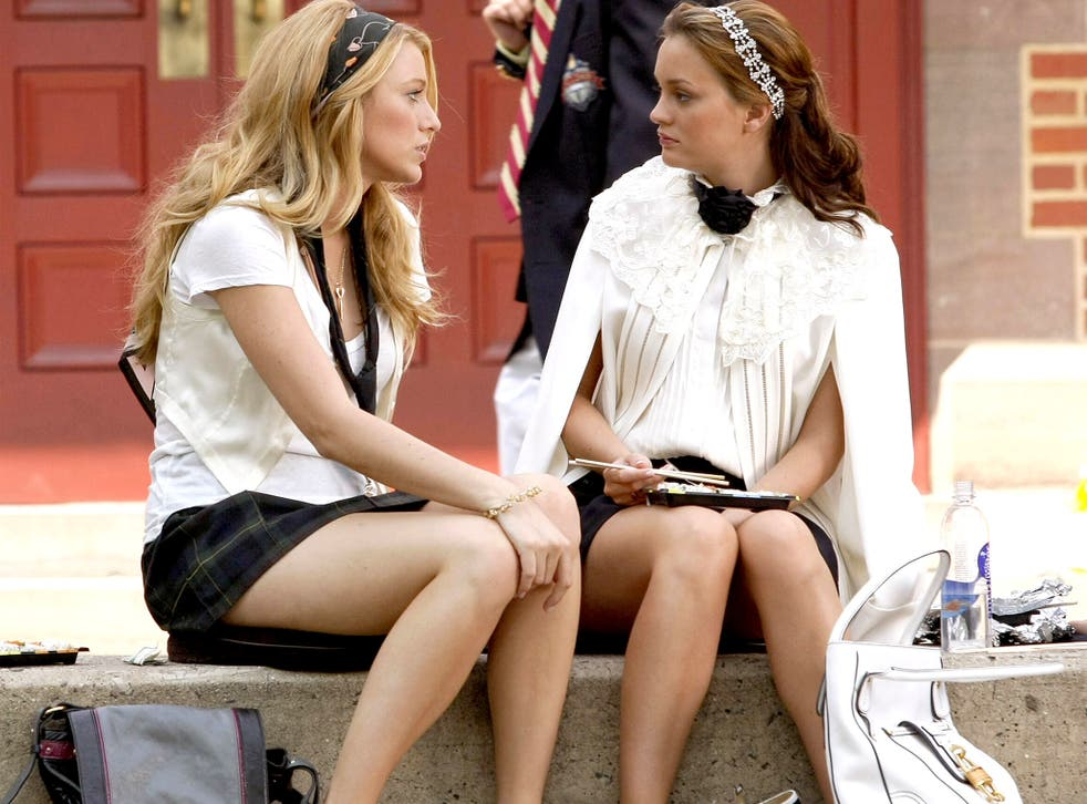 Snappy dresser: fancy an outfit from Gossip Girl? A new app makes it a couple of clicks away