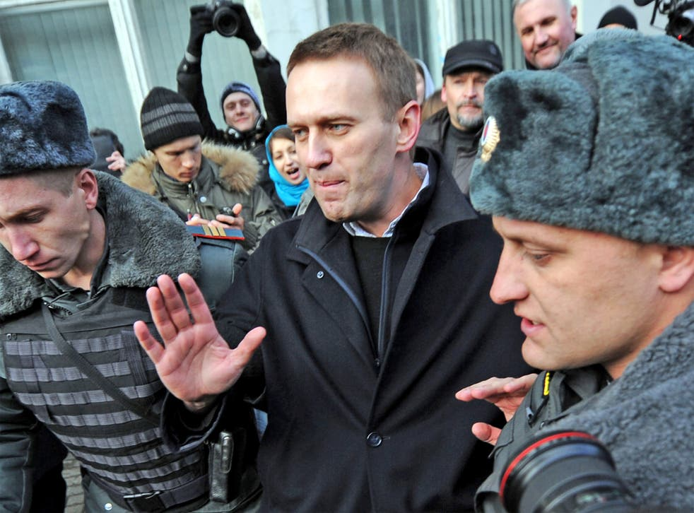 Alexei Navalny has won support among Russians tired of official corruption