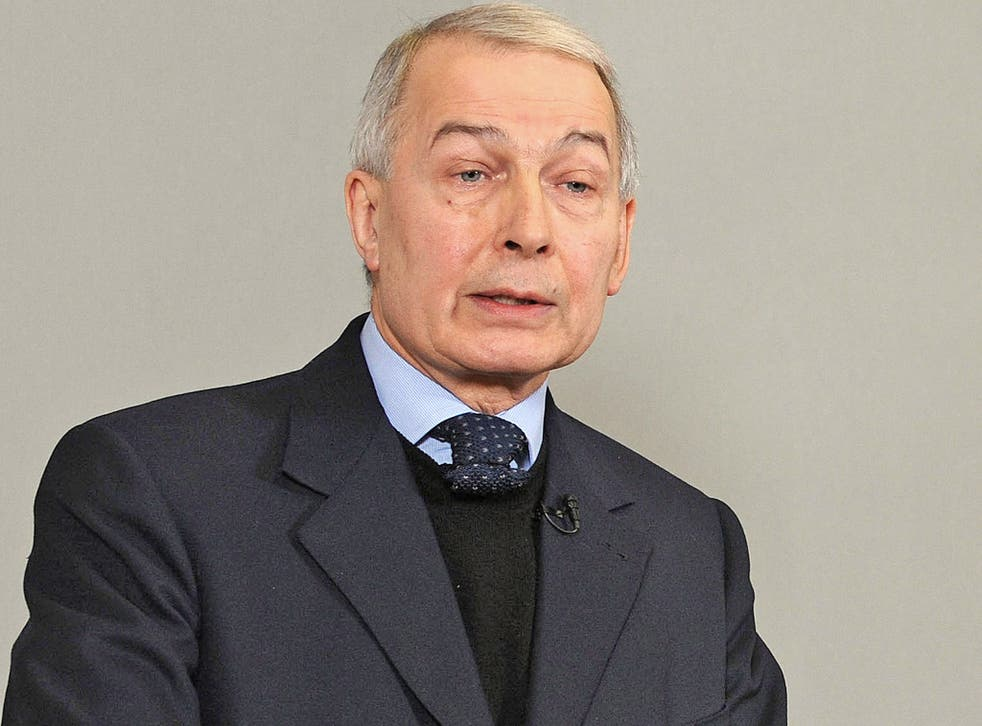 Frank Field: 'There is a real crisis of representation'
