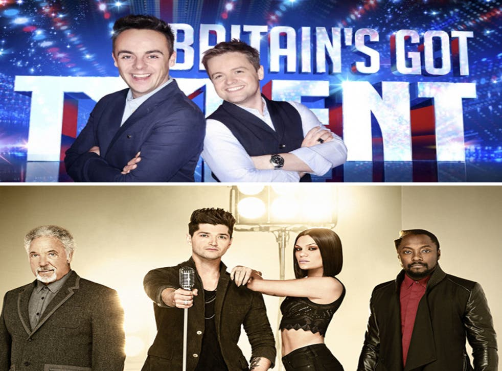 Saturday night ratings battle: Britain's Got Talent versus The Voice