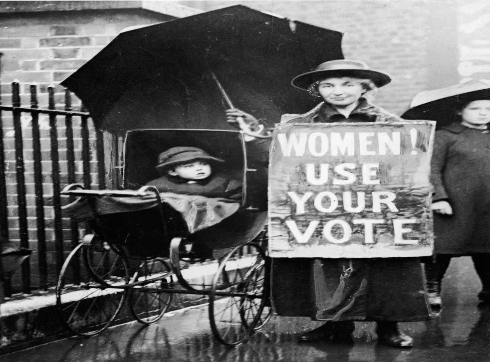 Is the personal still political? American suffragette circa 1920
