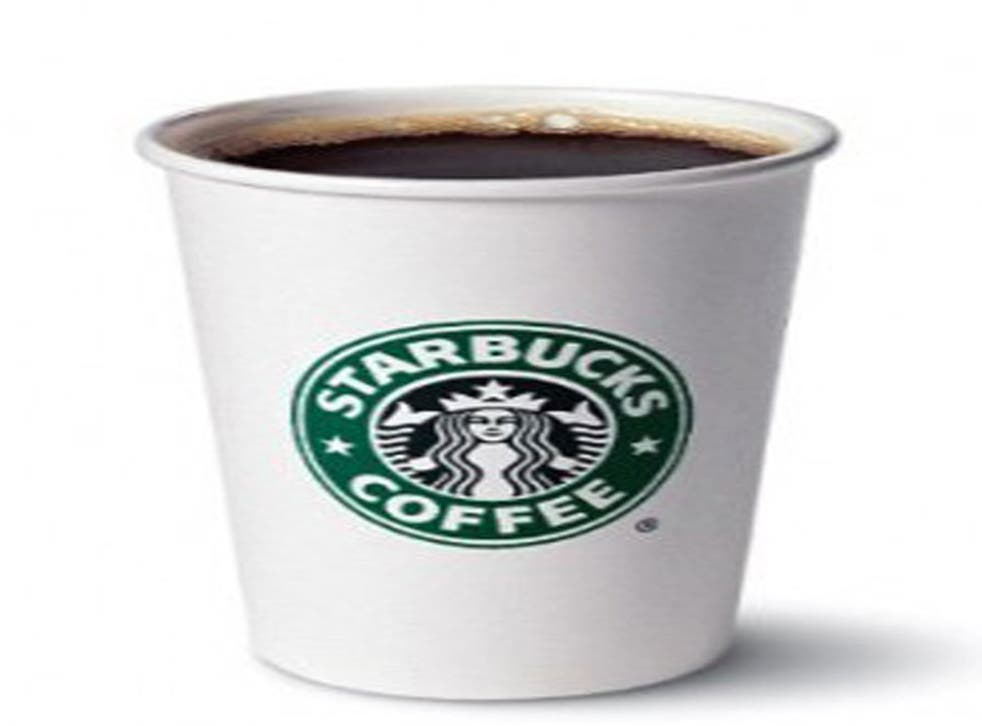 Starbucks is the first coffee chain in Britain to allow customers to buy a 'suspended' coffee for a homeless person