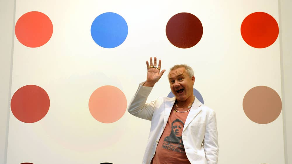 Colour Of Money Damien Hirst Catalogue Divides Art Dealers The Independent