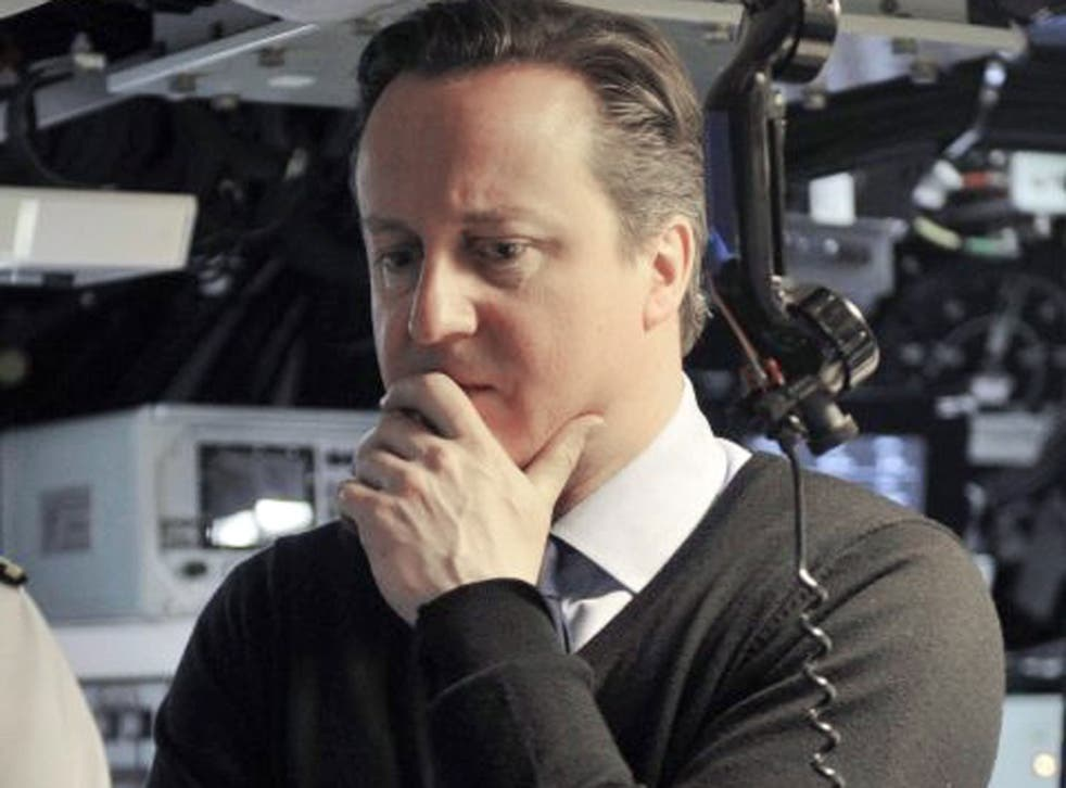 David Cameron's defended the Trident nuclear missile system last week