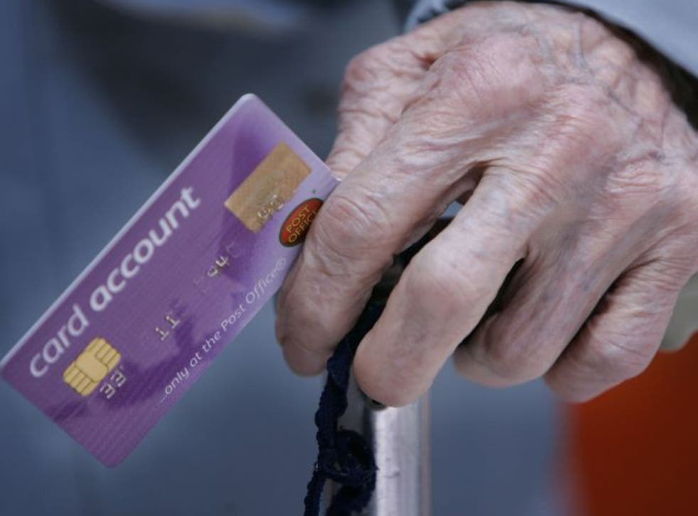 New guidance should make it easier for elderly people to use relatives to access their accounts