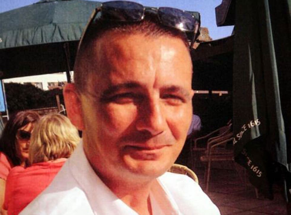 PC Ian Dibell died from a single wound to his chest as he tried to intervene in a dispute