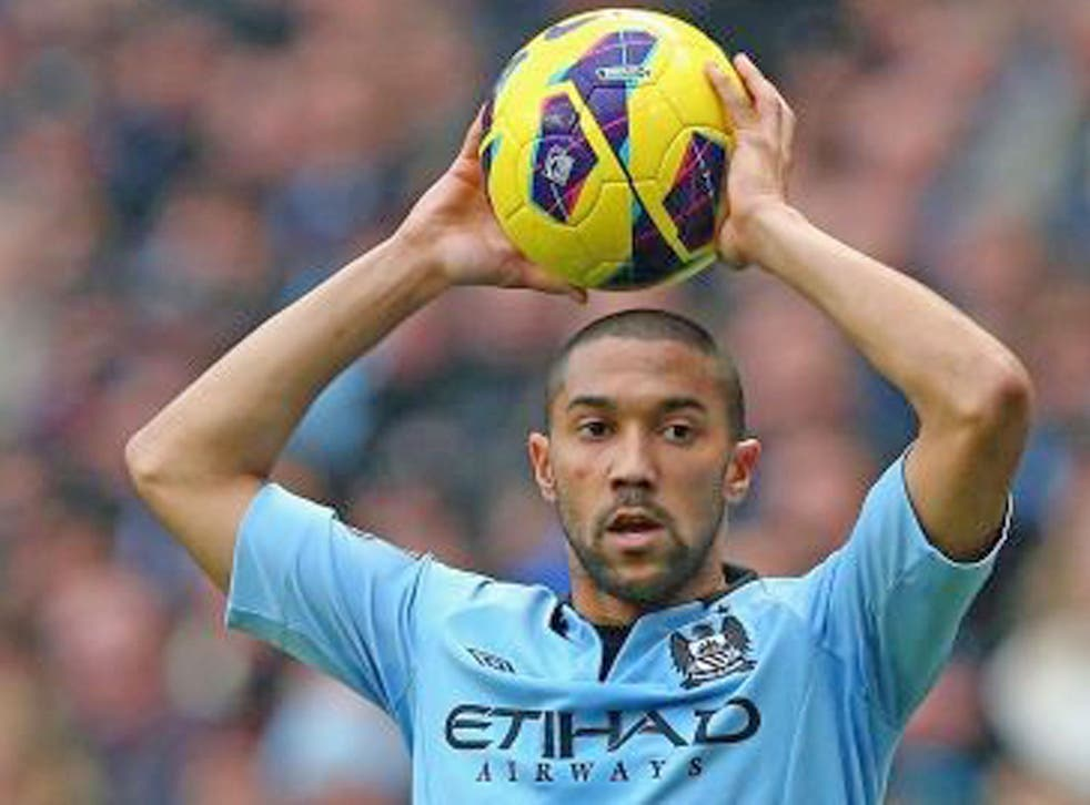 GAEL CLICHY (6): Provided pace and width down the left, going outside Silva and Nasri but crossing never as good as his running