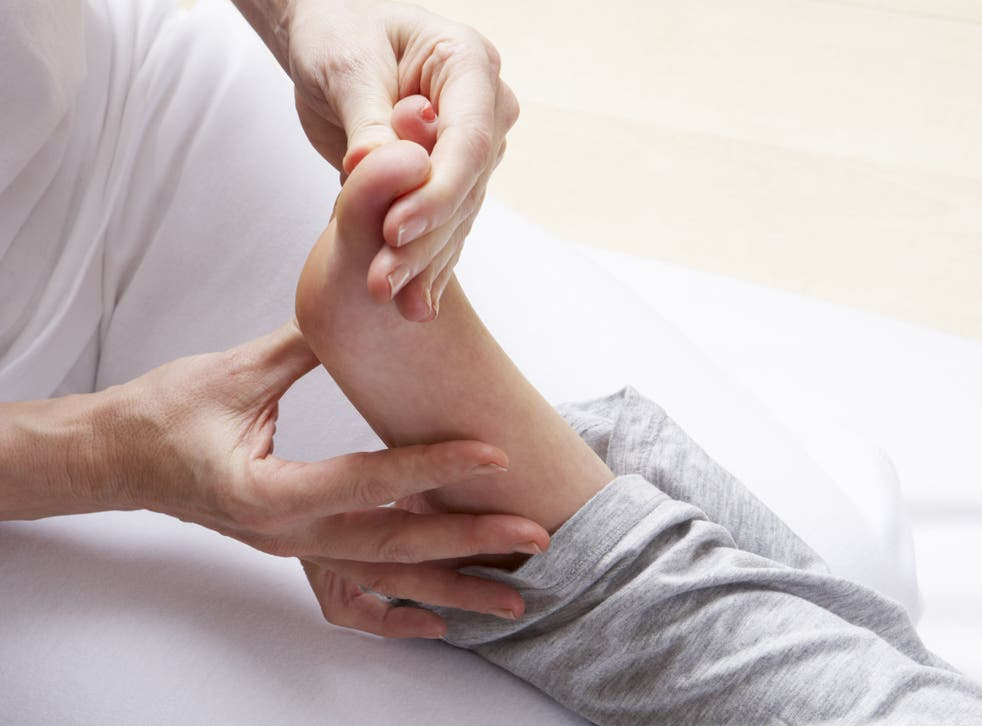 Reflexology may be as effective as painkillers, according to researchers at the University of Portsmouth