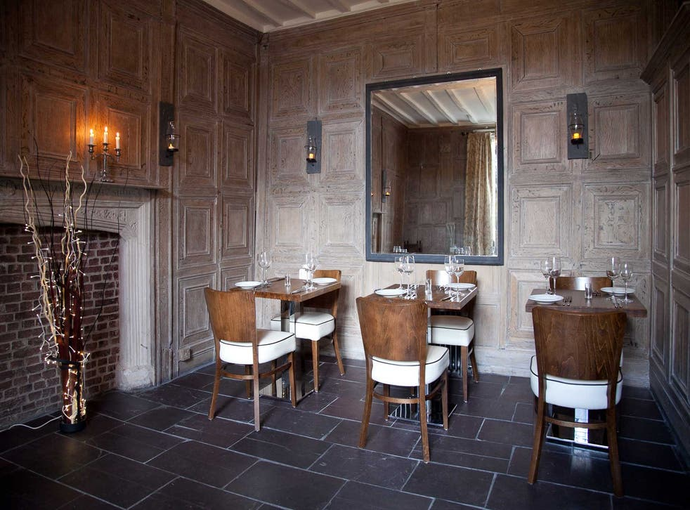 The Club Room holds just four tables, and feels both grand and rather snug