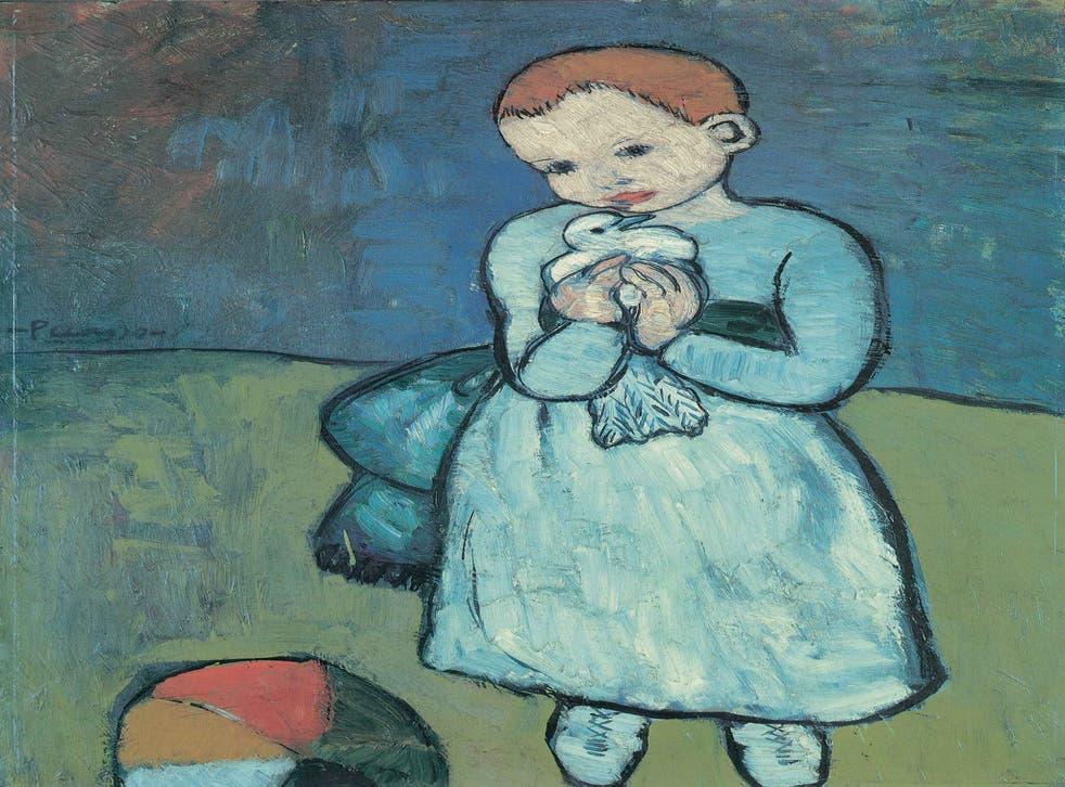 Pablo Picasso's 'Child with a Dove', 1901