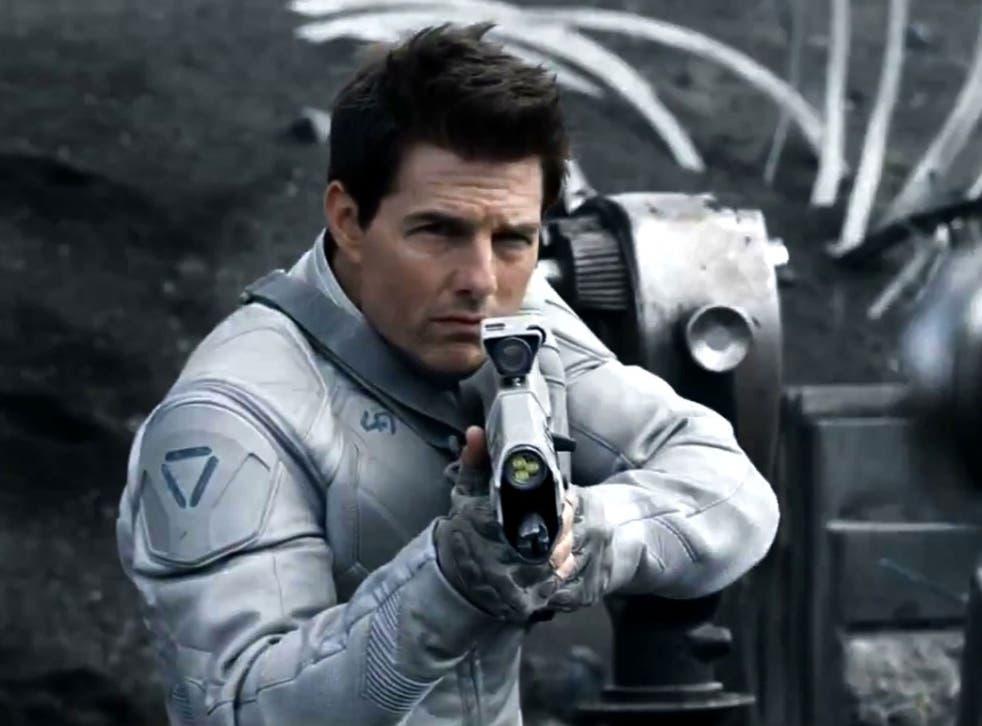 Tom Cruise in Joseph Kosinski's sci-fi adventure Oblivion