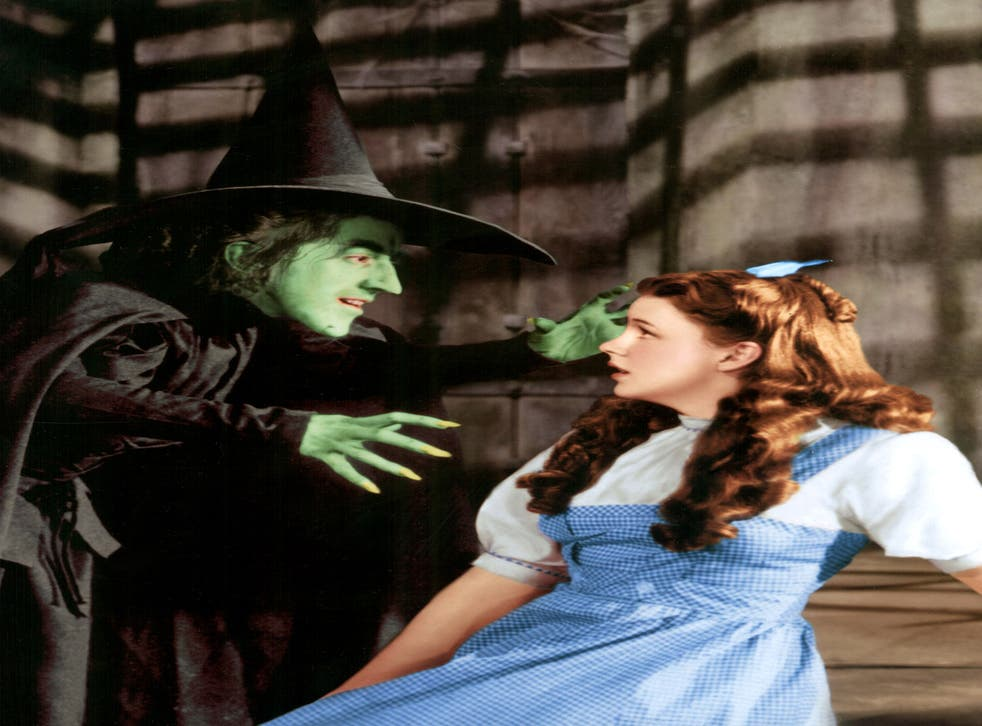 The song, sang by Judy Garland, right, and from the Wizard Of Oz, was propelled to the top of the charts by an online campaign by anti-Thatcher campaigners