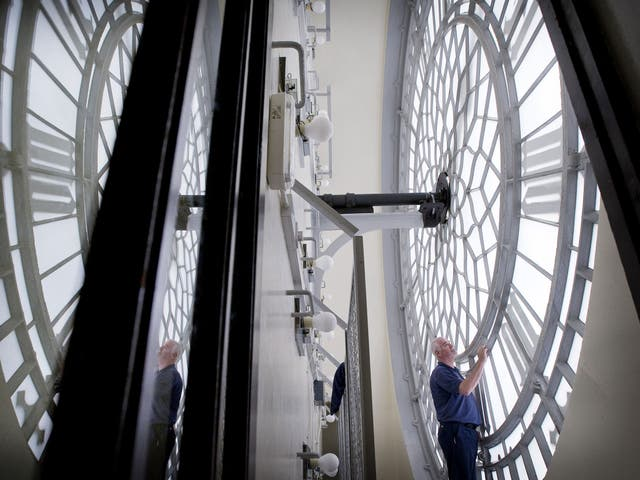 Hands of time: A clock mechanic in Big Ben, a place the public needs special permission to visit