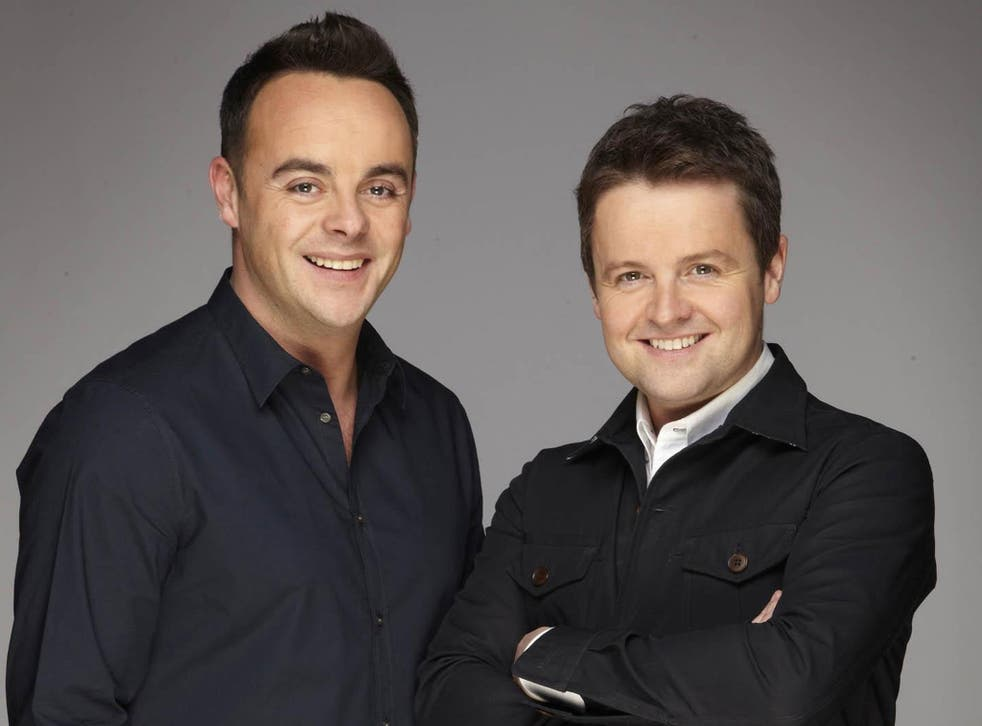 Women would rather sleep with Dec than Ant. (Dec's the one on the right)