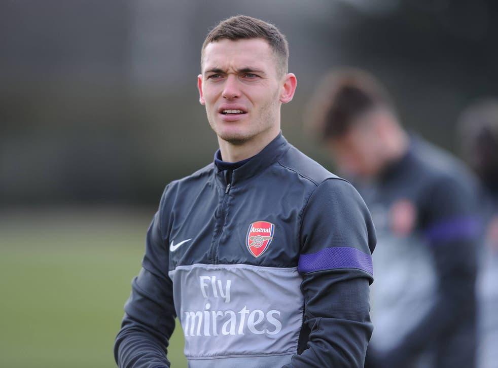 Arsenal captain Thomas Vermaelen