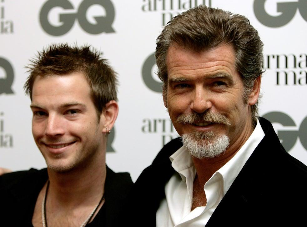 Pierce Brosnan's Sons Paris & Dylan Kick Off Ambassador ...  Pierce Brosnan Son And Noah Cyrus